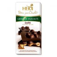 Čokoláda Grand´or whole hazelnuts dark 100g