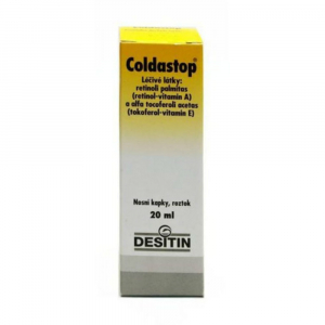 COLDASTOP Nosní kapky 20 ml