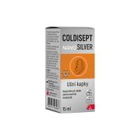 COLDISEPT Nanosilver ušní kapky 15 ml