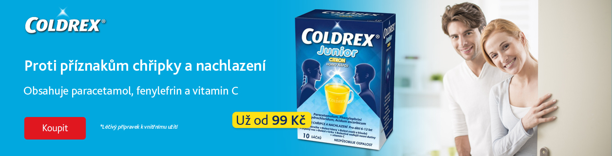 Coldrex už od 99 Kč