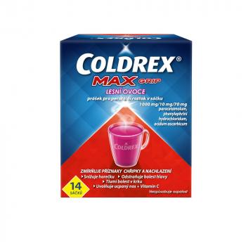 COLDREX MAXGrip Lesní ovoce prášek pro perorální roztok 14 sáčků
