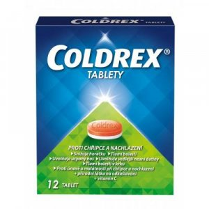 COLDREX Tablety 12 tablet