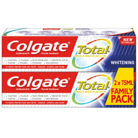 COLGATE Total Whitening Zubní pasta 2x75 ml