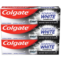 COLGATE Zubní pasta Advanced Whitening Charcoa 3x 75 ml