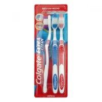 COLGATE Zubní kartáček Extra Clean 2+1 zdarma