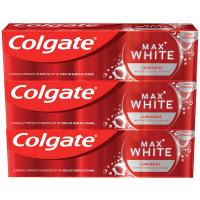 COLGATE Zubní pasta Max White Luminous 3x 75 ml