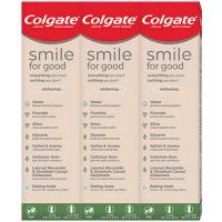 COLGATE Zubní pasta Smile for Good Whitening 3x 75 ml