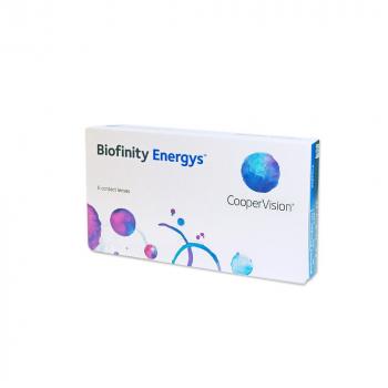 COOPERVISION Biofinity Energys měsíční čočky 6 kusů, Počet dioptrií: +1,00, Počet kusů v balení: 6 ks, Průměr: 14,0, Zakřivení: 8,6