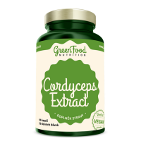 GREENFOOD NUTRITION Cordyceps Extract 90 kapslí
