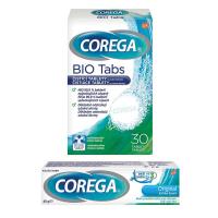 COREGA Original extra silný fixační krém 40g + Bio tablety 30 ks