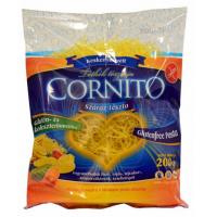 CORNITO Bezlepkové nudličky do polévky tenké, krátké  200 g