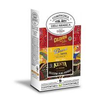 CORSINI Kávové kapsle variace 9 kusů