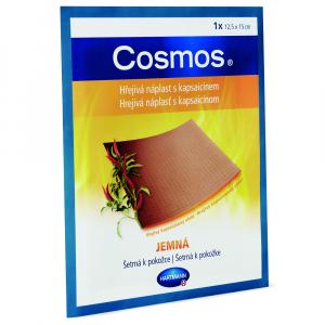 COSMOS Hřejivá náplast s kapsaicinem jemná 12,5 x 15 cm 1 kus