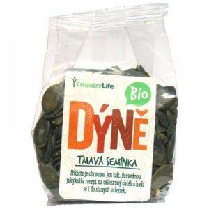 COUNTRY LIFE Dýňová semínka tmavá neloupaná BIO 100 g