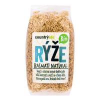 COUNTRY LIFE Rýže basmati natural 500g BIO