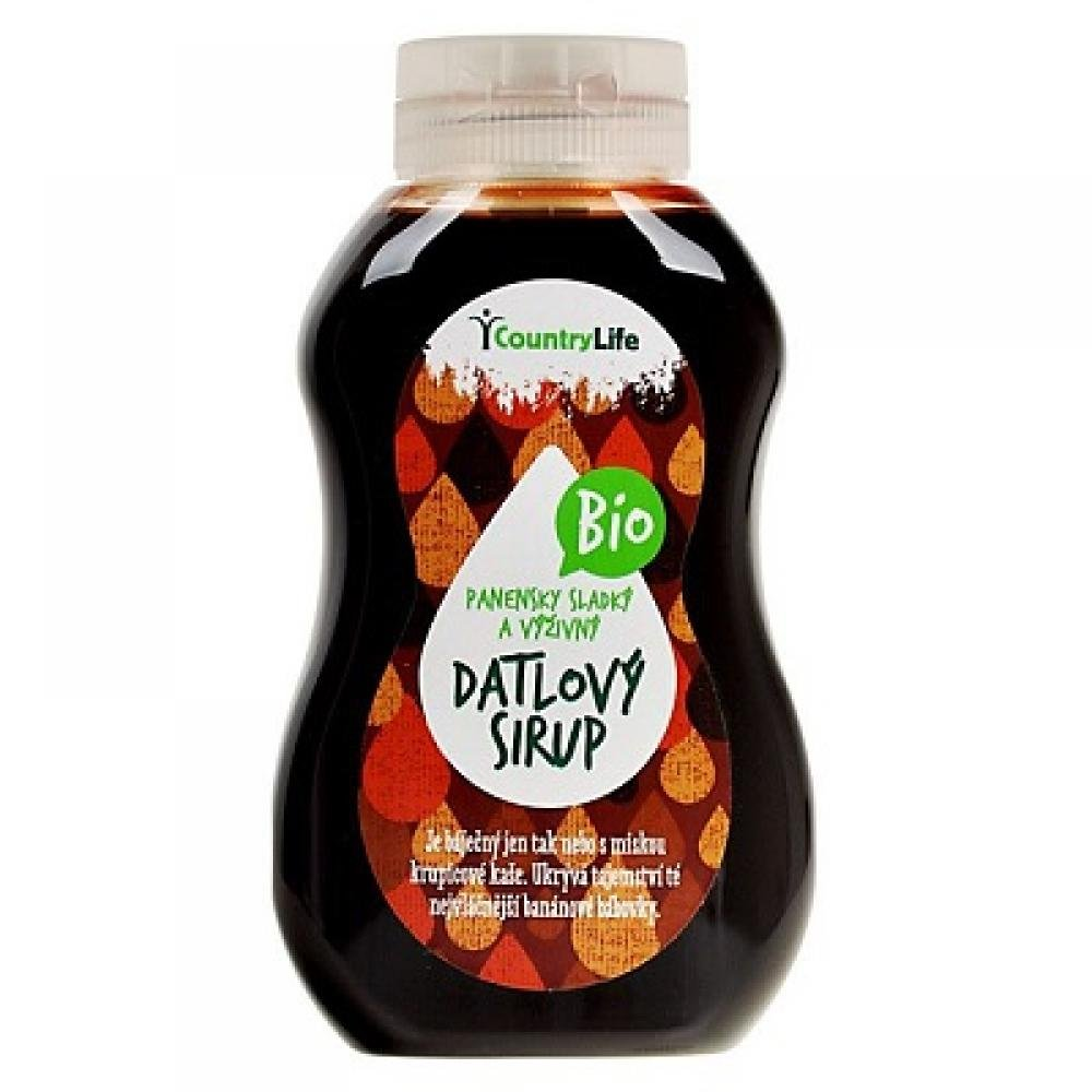Country Life Datlový sirup Bio 250 ml