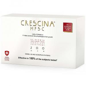 CRESCINA HFSC 100% Péče pro podporu růstu vlasů a proti vypadávání vlasů (stupeň 200) - Muži 20 x 3,5 ml