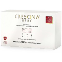 CRESCINA HFSC 100% Péče pro podporu růstu vlasů a proti vypadávání vlasů (stupeň 500)  - Muži 20 x 3,5 ml