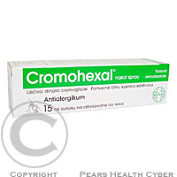 CROMOHEXAL  1X15ML Roztok ve spreji