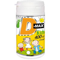 VITABALANS D-Max kids 400 IU 90 tablet