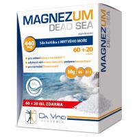 DA VINCI ACADEMIA Magnezum Dead Sea hořčík 80 tablet