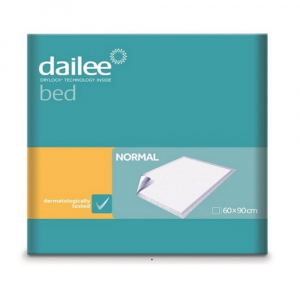 DAILEE Bed NORMAL Podložky 60 x 90 cm 30 ks