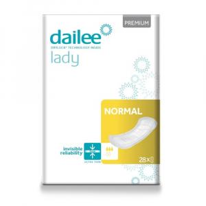 DAILEE Lady Premium NORMAL inkontinenční vložky 28 ks