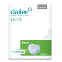 DAILEE Pant Premium SUPER Inkontinenční kalhotky XL 14 ks