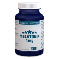 DÁREK CLINICAL Melatonin 1 mg 100 tablet