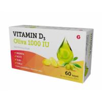 DÁREK GLENMARK Vitamin D3 oliva 1000 IU 60 kapslí