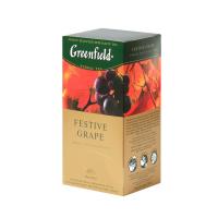 DÁREK GREENFIELD Herbal Festive Grape přebal 25x2g