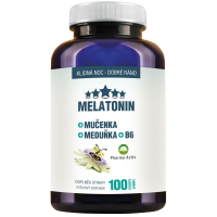 DÁREK CLINICAL Melatonin Mučenka Meduňka + B6 100 tablet