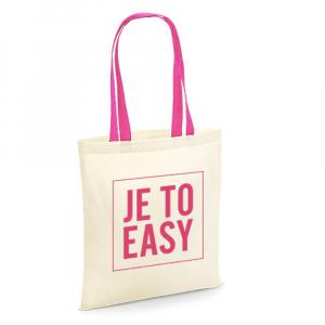 """DÁREK Plátěná taška """"Je to easy"""""""