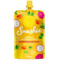 DÁREK SALVEST Smushie BIO Ovocné smoothie s meruňkou, ananasem a lněnými semínky (170 g)