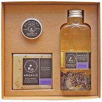 ANGELIC Sprchové olejové cuvée Levandule dárková krabička