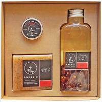 ANGELIC Tělové olejové cuvée Růže dárková krabička