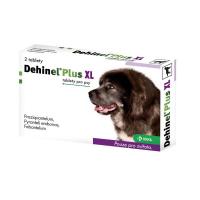 DEHINEL Plus XL veterinární tablety pro psy 2 ks