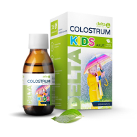 DELTA COLOSTRUM Kids sirup 100% natural 125 ml