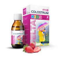 DELTA COLOSTRUM Sirup jahoda kids 125 ml