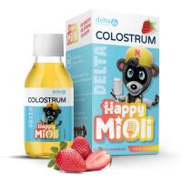 DELTA COLOSTRUM MiOli jahoda 125 ml