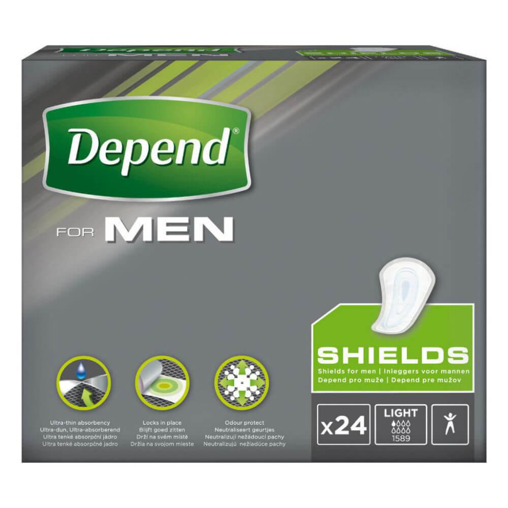 DEPEND For men 1 inkontinenční vložky pro muže 24 kusů