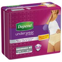 DEPEND Maximum inkontinenční kalhotky vel S/M 10 ks