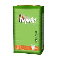 DEPEND Slip classic absorpční natahovací kalhotky 6 kapek 30 kusů