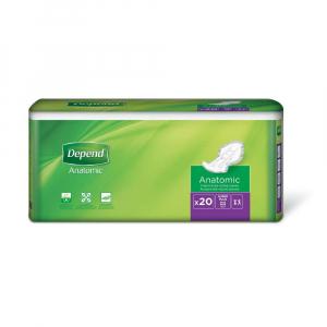 DEPEND Super plus inkontinenční vložné pleny 8 kapek 20 kusů