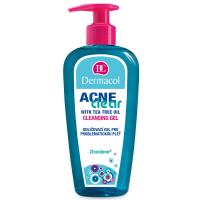 DERMACOL AcneClear Odličovací a čistící gel pro problematickou pleť 200 ml