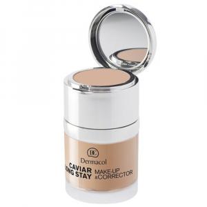 DERMACOL Make-up s kaviárem a korektor 30 ml odstín 3 Nude