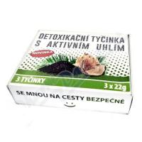 SPA FOODS Detoxikační tyčinka s aktivním uhlím 3 x 22 g