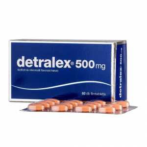 DETRALEX 500 mg 60 potahovaných tablet