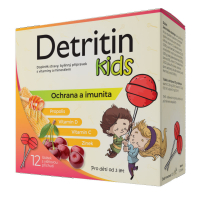 DETRITIN Kids lízátka na imunitu 12 ks