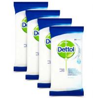 DETTOL Antibakteriální ubrousky na povrchy 4 x 84 ks